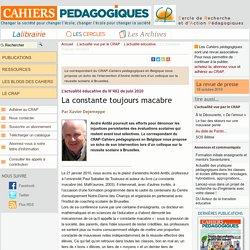 """JP Antibi : de la """"constante macabre"""" à """"l'évaluation par contrat de confiance"""""""