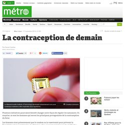 La contraception de demain