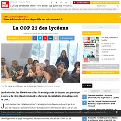 La COP 21 des lycéens
