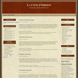 La Cour d'Obéron » Pendragon