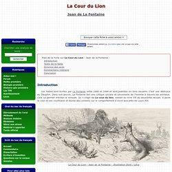 La Cour du Lion - Jean de La Fontaine