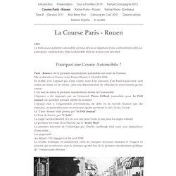 La Course Paris - Rouen