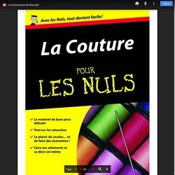 La Couture pour les Nuls.pdf