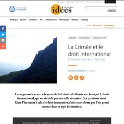 La Crimée et le droit international