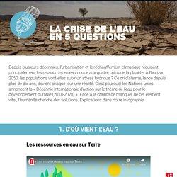 La crise de l'eau en 5 questions