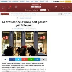 La croissance d'H&M doit passer par Internet