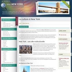 La culture à New York