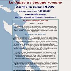 La danse à l'époque romane