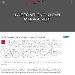 La définition du Lean management