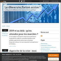 La déflation arrive !