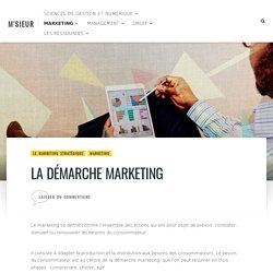 La démarche marketing /demarche anticipative réactive