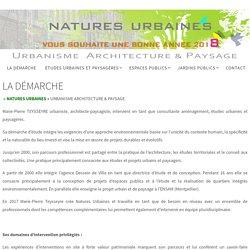 LA DÉMARCHE - Natures Urbaines