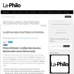 La démocratie chez Platon et Aristote