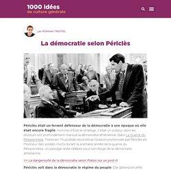 La démocratie selon Périclès