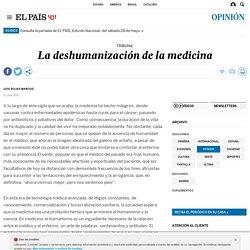 La deshumanización de la medicina