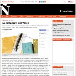 La dictadura del Word