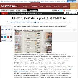 Médias & Publicité : La diffusion de la presse se redresse