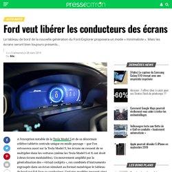 "La ""digital detox"" selon Ford"