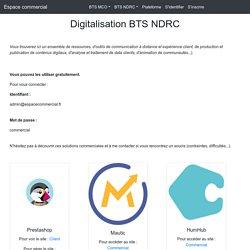 La digitalisation BTS NDRC