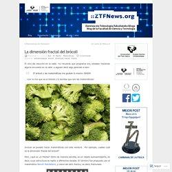 La dimensión fractal del brócoli