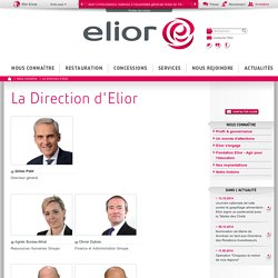 La Direction d'Elior