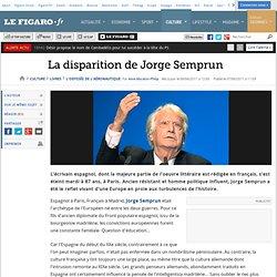 Livres : La disparition de Jorge Semprun