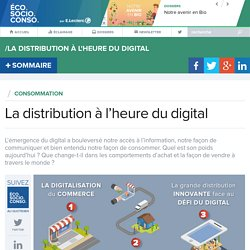 La distribution à l'heure du digital