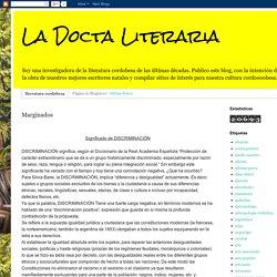 La Docta Literaria: Marginados