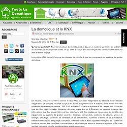 La domotique et le KNX