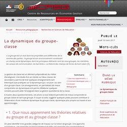 La dynamique du groupe-classe