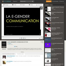 LA E-GENDER COMMUNICATION