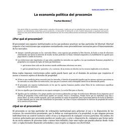 La economía política del procomún