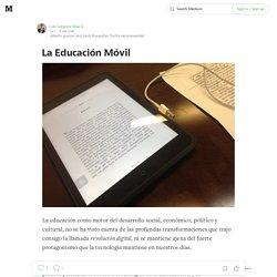 La Educación Móvil