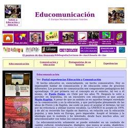 La educomunicación
