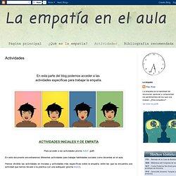 La empatía en el aula: Actividades