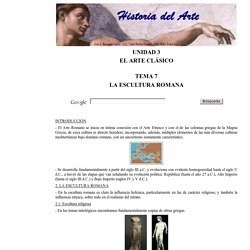 La Escultura Romana 1 de 2