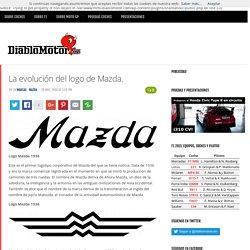 La evolución del logo de Mazda.