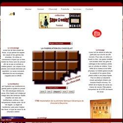 la fabrication du chocolat