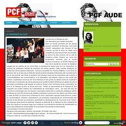 La Fabrique du Sud - PCF Aude