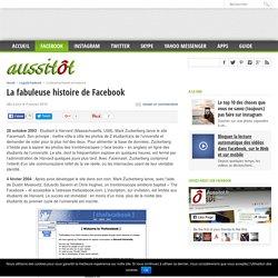 La fabuleuse histoire de Facebook