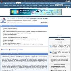 La FAQ sur le Web sémantique