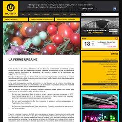 La ferme urbaine - Bordeaux