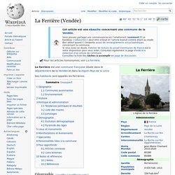 La Ferrière (Vendée)