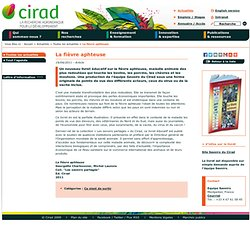 CIRAD 19/04/11 La fièvre aphteuse - Un nouveau livret éducatif sur la fièvre aphteuse, maladie animale des plus redoutées qui to