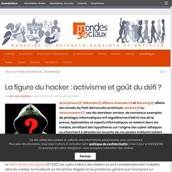 La figure du hacker : activisme et goût du défi ?