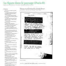 La figure dans le paysage (Paris 8)