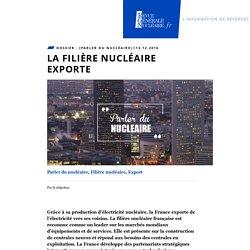 La filière nucléaire exporte