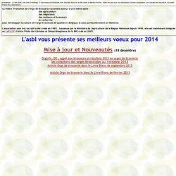 UNIVERSITE DE GEMBLOUX – 2012 – Orginfo.