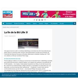 La fin de la BU Lille 3!
