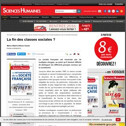 La fin des classes sociales ?